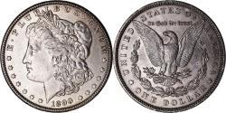 Us Coins - Coin, United States, Morgan Dollar, Dollar, 1890, U.S. Mint, Philadelphia