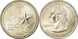 Us Coins - Coin, United States, Texas, Quarter, 2004, U.S. Mint, Philadelphia,