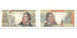 World Coins - France, 10,000 Francs, Bonaparte, 1956, 1956-06-07, AU(50-53), Fayette:51.3