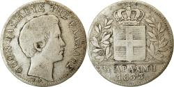 World Coins - Coin, Greece, Othon, 1/2 Drachma, 1833, , Silver, KM:19