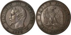World Coins - Coin, France, Napoleon III, 2 Centimes, 1853, Bordeaux,