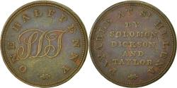 World Coins - Coin, SAINT HELENA & ASCENSION, Halfpenny, 1821, EF(40-45), Copper, KM:Tn1