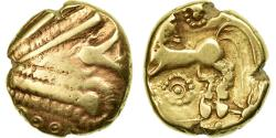 Coin, Remi, Stater, Area of Reims, VF(30-35), Gold, Delestrée:174