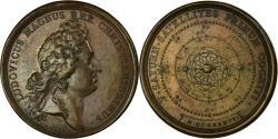 World Coins - France, Medal, Louis XIV, Découverte de Cinq Satellites de Saturne, 1686