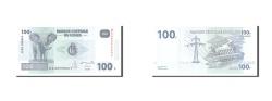 World Coins - Congo Democratic Republic, 100 Francs, 2007, KM:98a, 2007-07-31, UNC(65-70)