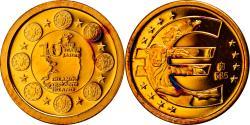 World Coins - Ireland, Medal, 10 ans de l'Euro, 2009, , Gold