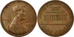 Us Coins - Coin, United States, Lincoln Cent, Cent, 1972, U.S. Mint, Philadelphia