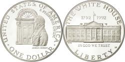 Us Coins - United States, Dollar, White House, 1992, West Point, MS(65-70), Silver, KM:236