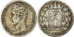 World Coins - Coin, France, Charles X, Franc, 1828, Bordeaux, , Silver, KM:724.7