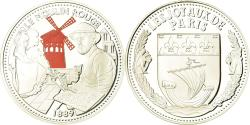 World Coins - France, Medal, Les Joyaux de Paris, Le Moulin Rouge, , Silver