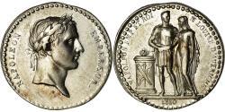 World Coins - France, Medal, Mariage de Napoléon et Marie-Louise, Quinaire, 1810, Caqué