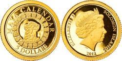 World Coins - Coin, Solomon Islands, Elizabeth II, Maya Calendar, 5 Dollars, 2012, B.H. Mayer