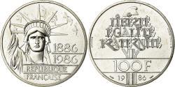 World Coins - Coin, France, 100 Francs, 1986, Piéfort, , Silver, KM:P972