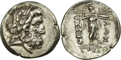Ancient Coins - Coin, Thessaly, Thessalian Confederation (196-146 BC), Zeus, Double Victoriatus