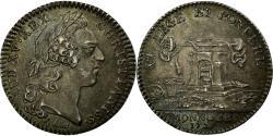 World Coins - France, Jeton, Royal, Monnoye, History, 1723, Louis XV, , Silver