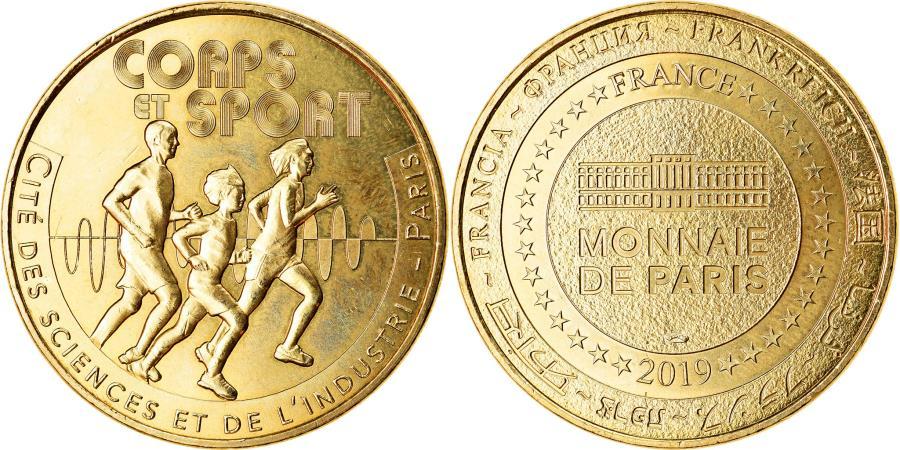 World Coins - France, Token, Paris - Cité des Sciences et de l'Industrie n°19, 2019, MDP
