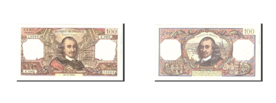 World Coins - France, 100 Francs, 1976, KM:149f, 1976-11-04, VF(20-25), Fayette:65.55