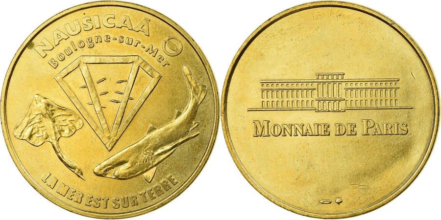 World Coins - France, Token, Touristic token, Boulogne-sur Mer  - Nausicaa n° 1, Arts &