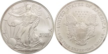Us Coins - United States, Dollar, 2004, U.S. Mint, Philadelphia, MS(63), Silver, KM:273
