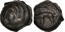 Ancient Coins - Bituriges Cubes, Area of Bourges, Potin au sanglier, AU(50-53), Delestré:3504