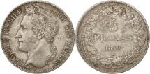 Belgium, Leopold I, 5 Francs, 5 Frank, 1849, EF(40-45), Silver, KM:3.2