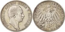 German States, SAXONY-ALBERTINE, Friedrich August III, 3 Mark, 1910