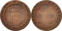 France, Napoléon I, 10 Centimes, 1809, Paris, VF(20-25), Billon, KM:676.1