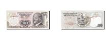 World Coins - Turkey, 50 Lira, 1971-1982, KM:188, 1976, UNC(65-70)
