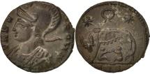 Constantine I, Nummus, Trier, AU(50-53), Copper, RIC:VII 553