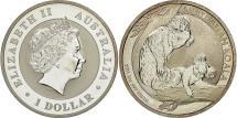 World Coins - Australia, 1 Dollar, 2011, Royal Australian Mint, MS(65-70), Silver