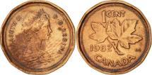 World Coins - Canada, Elizabeth II, Cent, 1982, Royal Canadian Mint, Ottawa, AU(50-53)