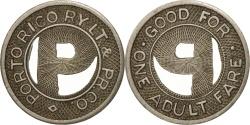 Us Coins - United States, Token, Porto Rico Railway Limited & Pr. Company