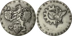 World Coins - France, Medal, Chambre de Commerce Lille-Roubaix-Tourcoing, 1972, Baron