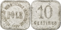 World Coins - France, 10 Centimes, 1921, , Aluminium, Elie #10.2, 1.36