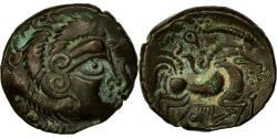 Ancient Coins - Coin, Coriosolites, Stater, 80-50 BC, AU(55-58), Billon, Delestrée:2340