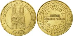 World Coins - France, Token, Touristic token, Reims - Cathédrale Notre Dame, 1999, MDP
