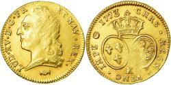 World Coins - Coin, France, Louis XV, Double louis d'or à la vieille tête, 1773, Bordeaux