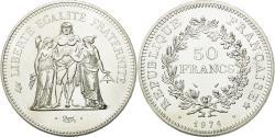 World Coins - Coin, France, Hercule, 50 Francs, 1974, Paris, , Silver, KM:941.1