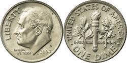 Us Coins - Coin, United States, Roosevelt Dime, Dime, 2004, U.S. Mint, Philadelphia