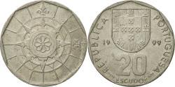 World Coins - Coin, Portugal, 20 Escudos, 1999, Lisbon, , Copper-nickel, KM:634.1