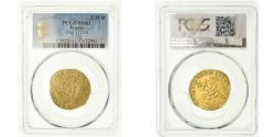 World Coins - Coin, France, Henri III, Ecu d'or, 1578, Angers, PCGS, MS61, Gold, graded