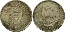 World Coins - Coin, Libya, Idris I, 20 Milliemes, 1965/AH1385, , Copper-nickel, KM:9