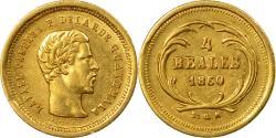 World Coins - Coin, Guatemala, Rafael Carrera, 4 Reales, Cuatro, 1860, , Gold, KM:135