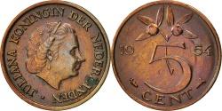 World Coins - Netherlands, Juliana, 5 Cents, 1954, , Bronze, KM:181