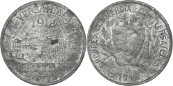 World Coins - France, 5 Centimes, 1918, , Zinc, Elie #10.1, 2.13
