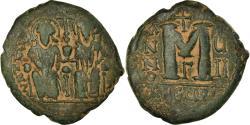 Ancient Coins - Coin, Justin II, Follis, 572-573, Antioch, , Copper, Sear:379