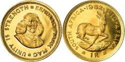 World Coins - Coin, South Africa, Rand, 1982, Proof, , Gold, KM:63