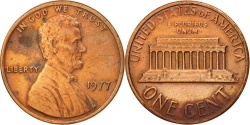 Us Coins - United States, Lincoln Cent, 1977, Philadelphia, , KM:201