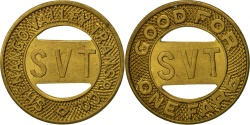 Us Coins - United States, Token, Shenango ValleyTransport Company