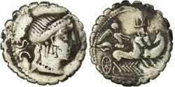 Ancient Coins - Coin, Naevia, Denarius Serratus, 79 BC, Rome, , Silver, Crawford:382/1b